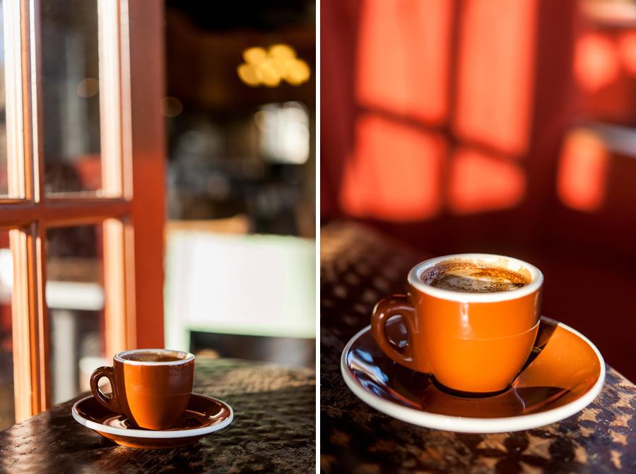 Cortado an espresso cut with a small amount of milk