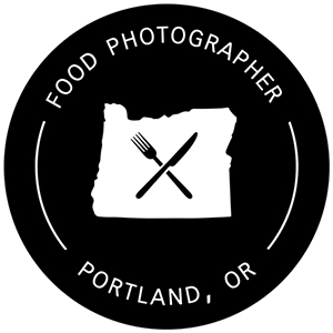 PDX Food Photographer logo